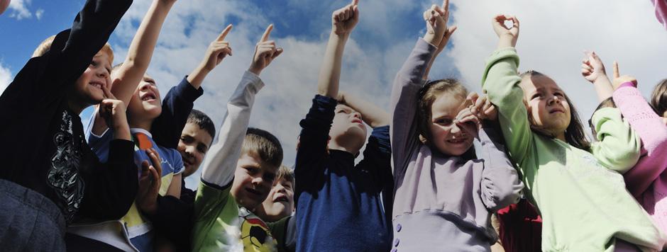 Każde dziecko jest tu radosne i szczęśliwe